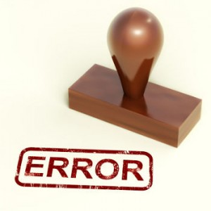 error_sello